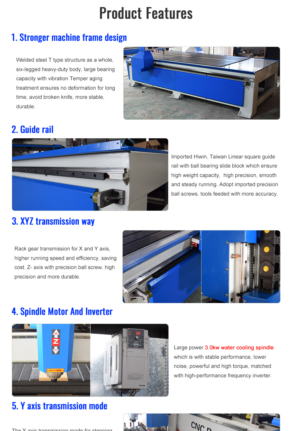 Woodworking CNC Router With Rolling Cylinder